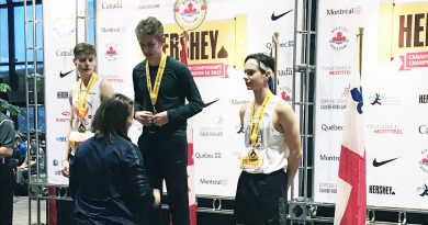 Paradise runner earns gold in Montreal