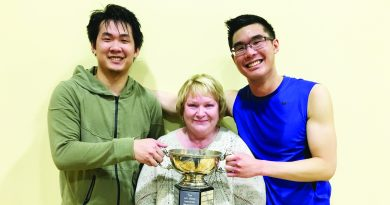 Badminton enthusiasts celebrate another successful Jim Webb tourney