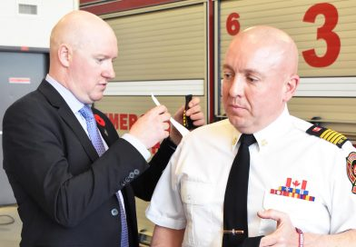 Fire Department Inks Deal With Wounded Warriors