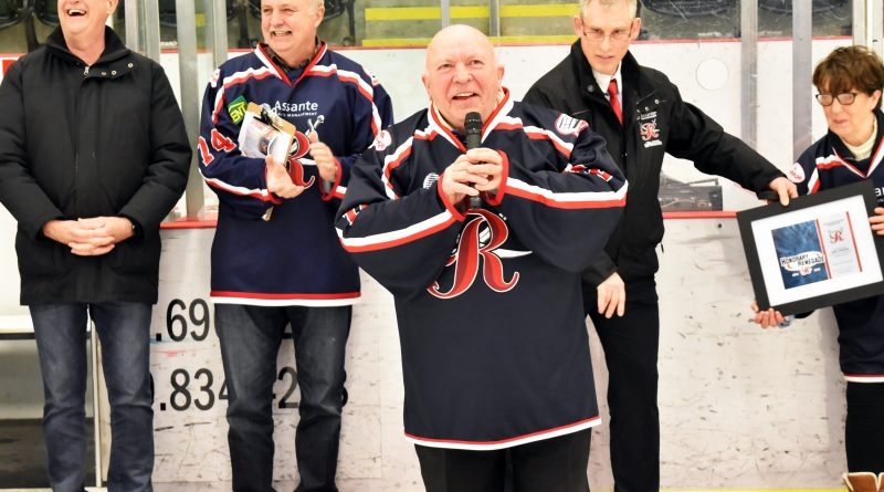 A 'Strong' supporter of amateur hockey: Renegades claim Mel Strong as one of their own