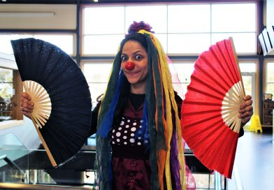 She's not just clowning around: Brazilian-trained artist hoping to boost interest in the circus arts in CBS this summer