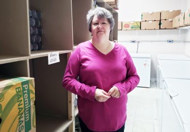 Business is up at the food bank