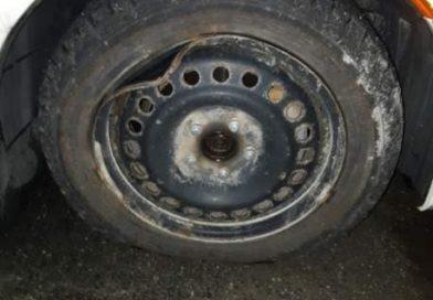Bent rims and flat tires