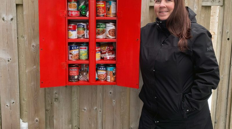 Free little pantries popping up all over the Avalon