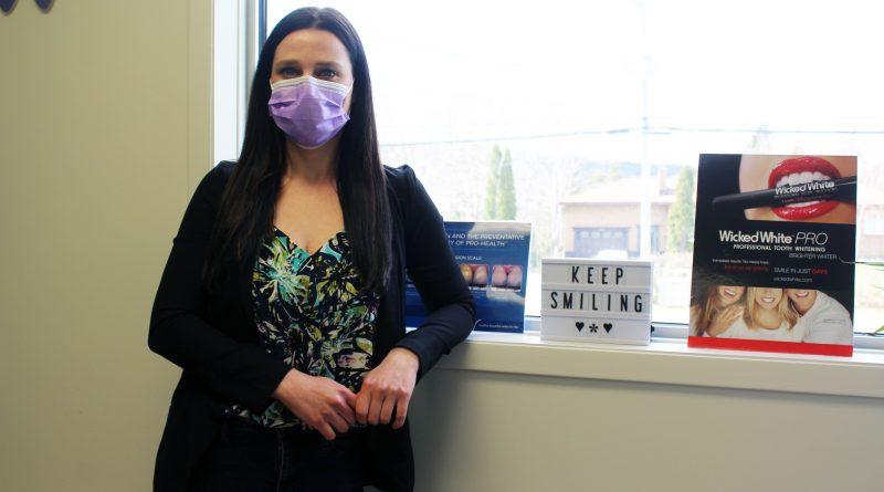 Dental hygienist likes Holyrood's location