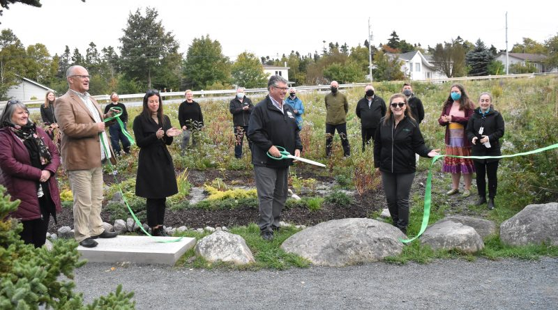 New Rain Garden will filter out pollutants from reaching Manuels River
